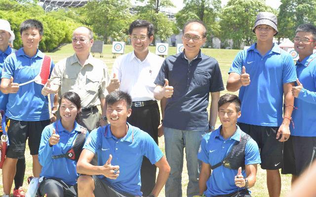 奧運總集訓-林院長赴國訓中心為選手