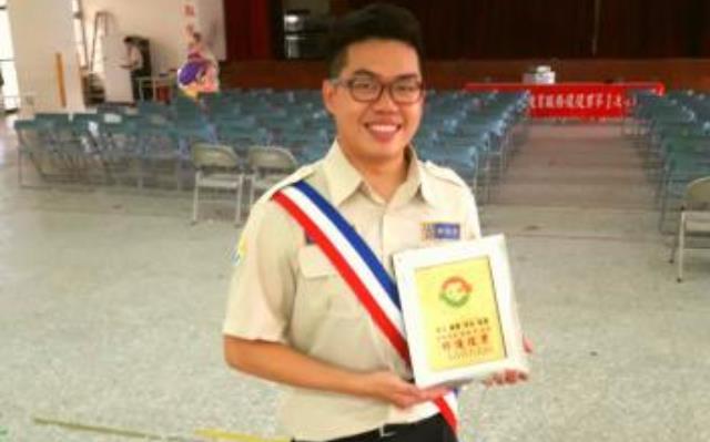 榮獲106上半年度教育部全國績優替代役男之殊榮