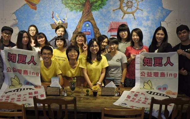「知更人」團隊拜訪中華民國更生少年關懷協會,並幫助協會募款