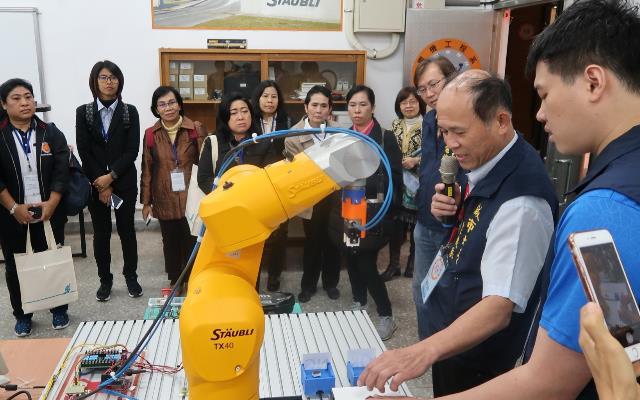 教育部深耕新南向  泰國技職官員來