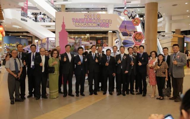 照片3_2018泰國臺灣高等教育展於曼谷盛大舉辦