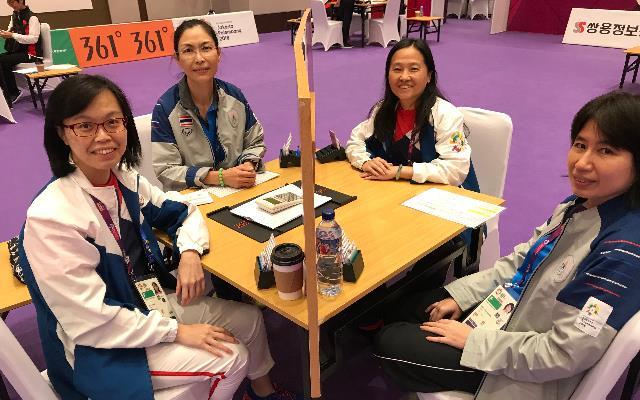 最強上班族 體育署專委打出亞運銀牌