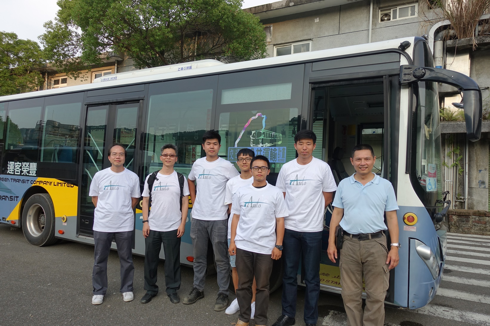 圖(一)明志科技大學師生參與打造自駕公車_大圖