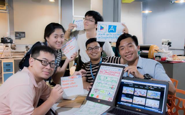 107年新南向青創基地暑期交流活動跨國團隊產品雛形設計。_大圖