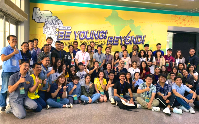 The 2nd Be Young! Beyond! Startup Bootcamp包含來自印度、印尼、馬來西亞、菲律賓、泰國、越南等6個新南向國家31名學生及29名國內學生,共60名學生參與受訓_大圖