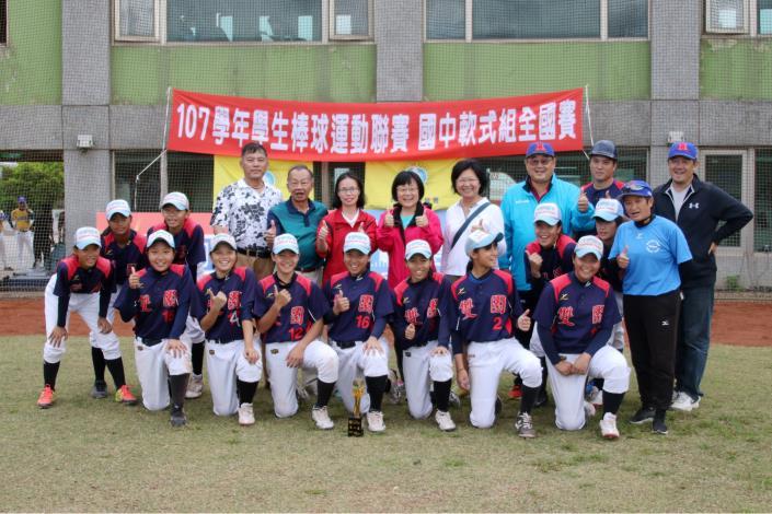 各級學生棒球聯賽揭幕  國中軟式棒