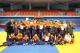 徐為紘(二排左一)帶領學生參加2019年臺北市青年盃柔道錦標賽
