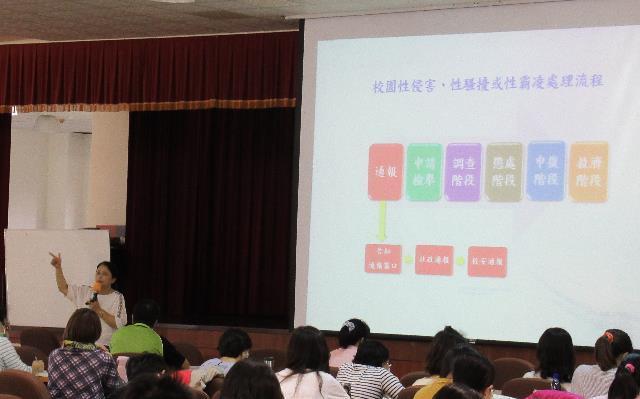 校園性別事件防治 國教署強化學校處