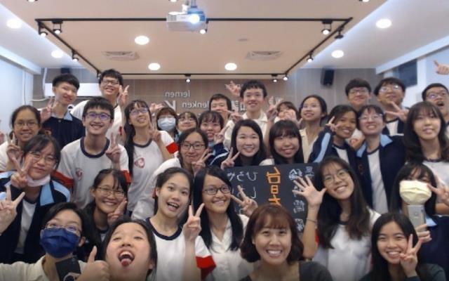 國際姊妹校交流不斷線  高中生視訊