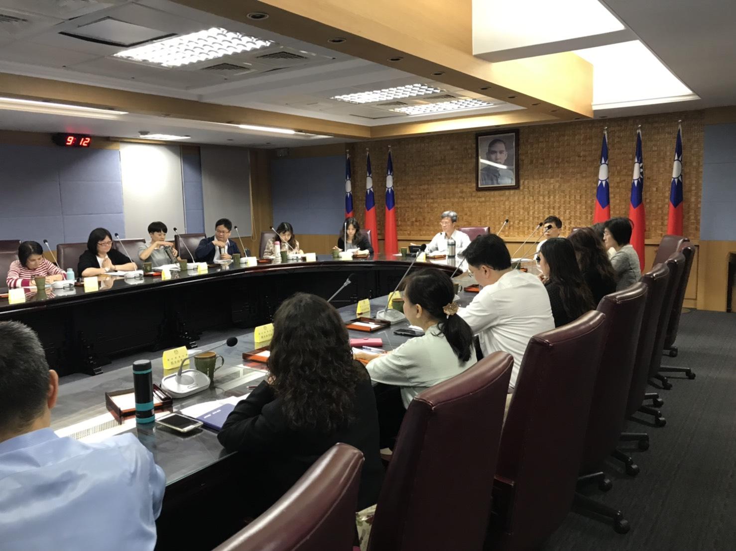 108年教育部人事處所屬人事機構新任人事主管業務座談會
