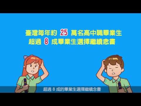 30秒告訴您教育部「青年教育與就業儲蓄帳戶」政策