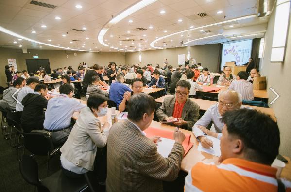 107年10月13日全國大學程式設計教師經驗交流觀摩會(世界咖啡館分組討論 與會教師熱烈參與)_大圖