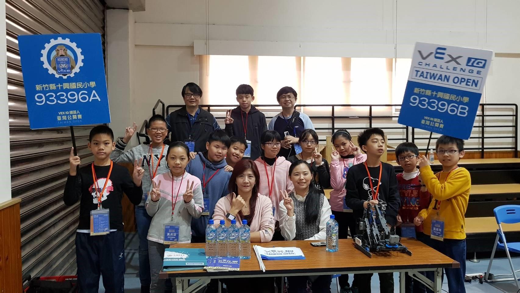 李昆璉帶學生參加vex機器人國內賽_大圖